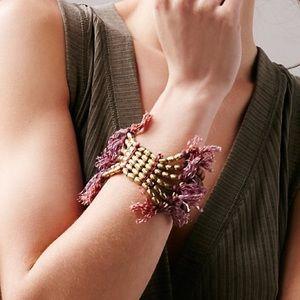 Free People lost ruins Beaded bracelet